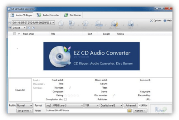 EZ CD Audio Converter 9.0.4 Crack + Free License Key 2020 [Ultimate]