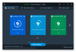 IObit Smart Defrag 6.7.0.26 Crack Plus License Key 2021