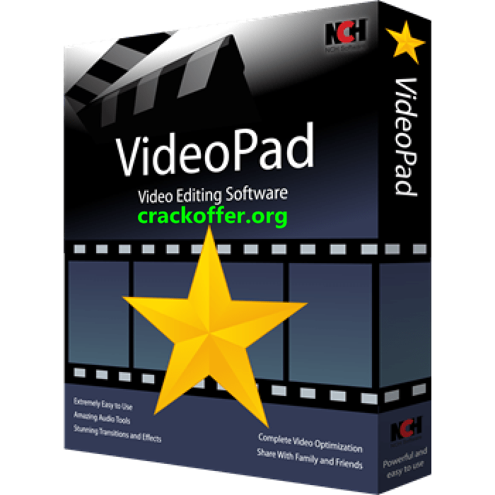 VideoPad Video Editor 8.65 Crack With Keygen Free Download 2020