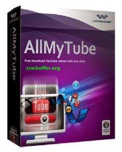 Wondershare AllMyTube 7.4.8 Crack Plus Keygen 2020